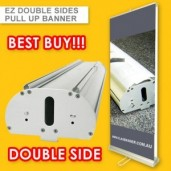 DOUBLE SIDE DELUXE  PULL UP BANNER